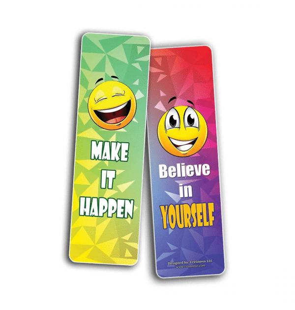 Make It Happen Believe Bookmark