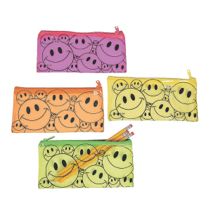 Smile Emoji Pencil Case Bag