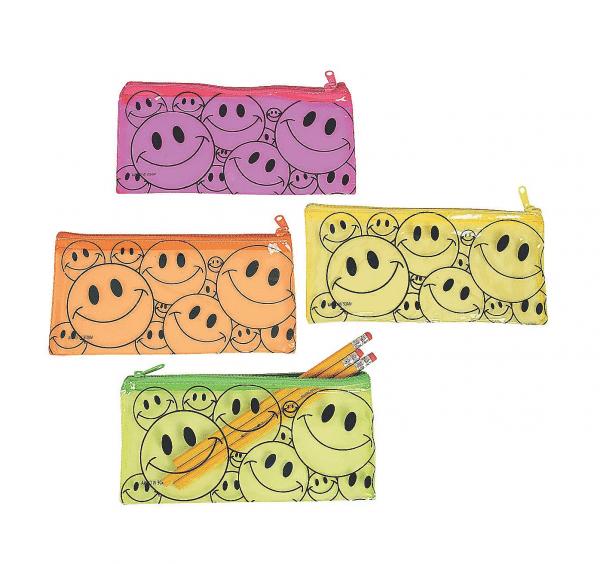 Smile Emoji Pencil Case Bag