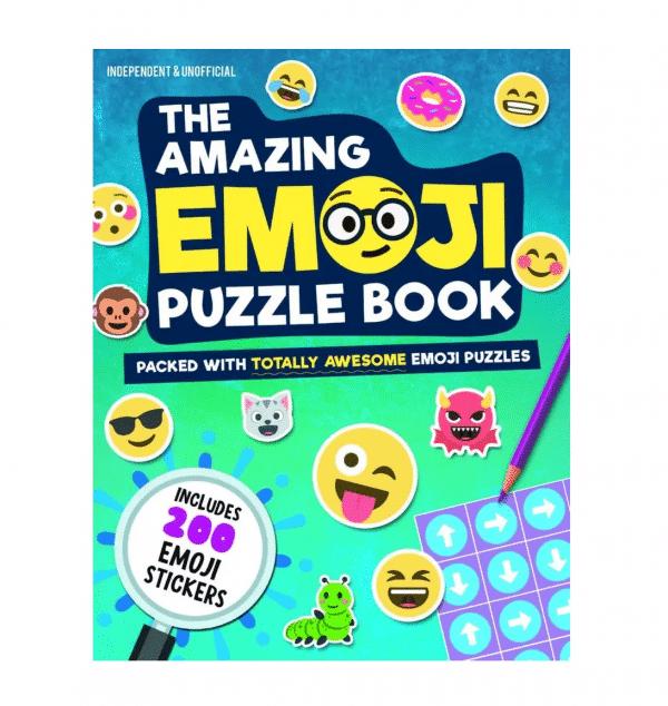 Amazing Puzzle Emoji Book