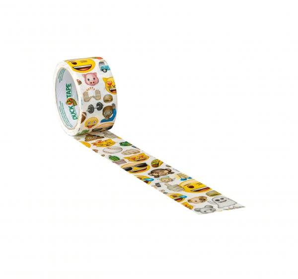 Duck Tape Emoji Print