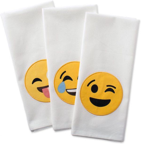 Emoji Dish Towels