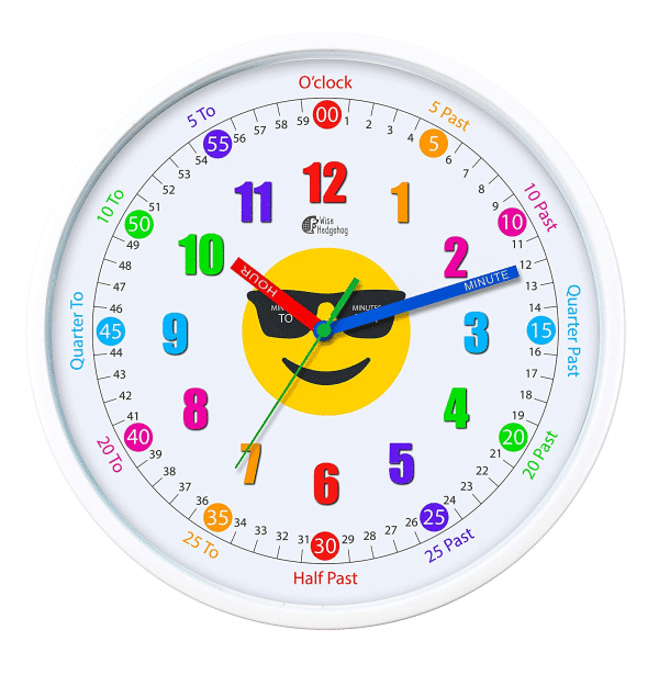 Emoji Educational Clock