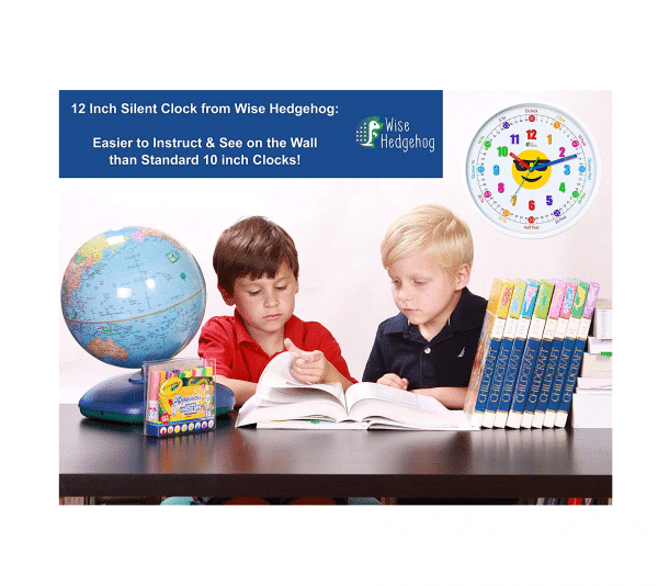 Emoji Educational Clock School