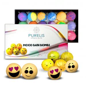 Emoji Mood Bath Bombs