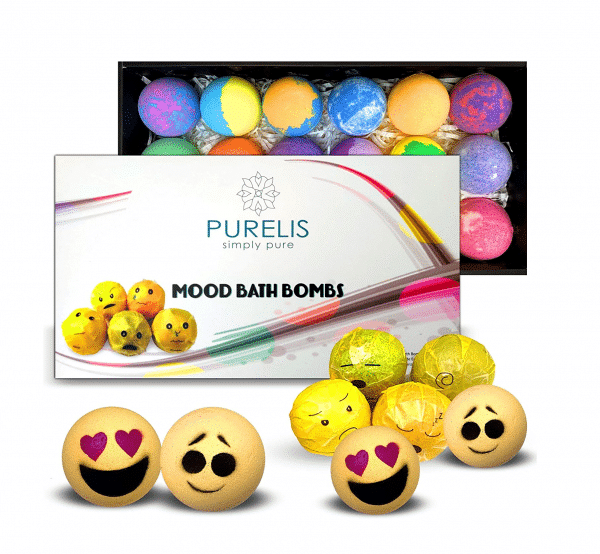 Emoji Mood Bath Bombs