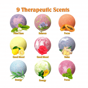 Emoji Mood Bath Bombs Scents