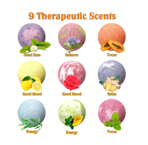 Emoji Mood Bath Bombs Scents