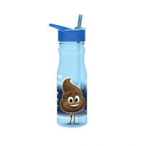 Emoji Movie Poop Water Bottle