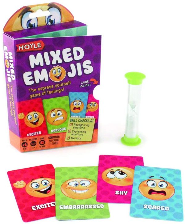 Mixed Emojis Card Game Contents