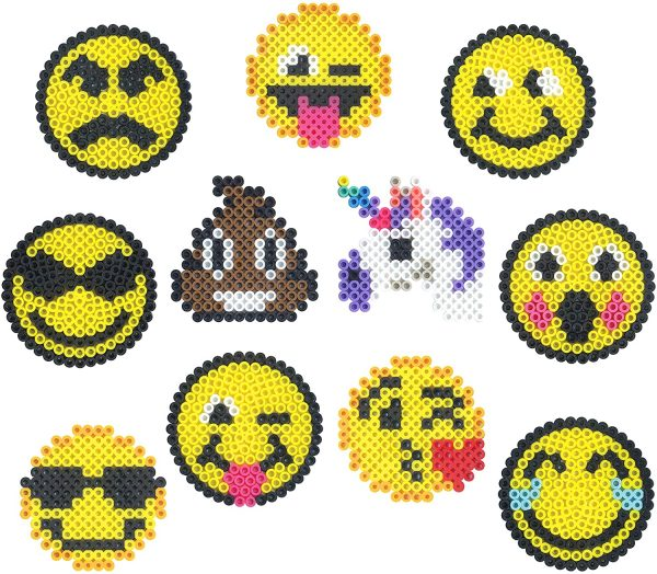 Perler Beads Emoji Designs