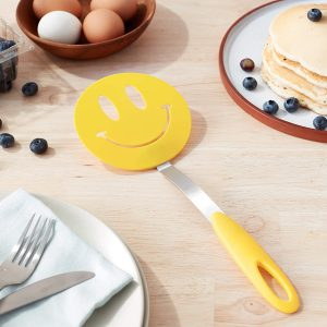Steel Spatula Smiley Emoji