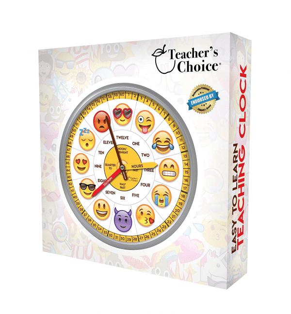 Teachers Choice Emoticon Wall Clock