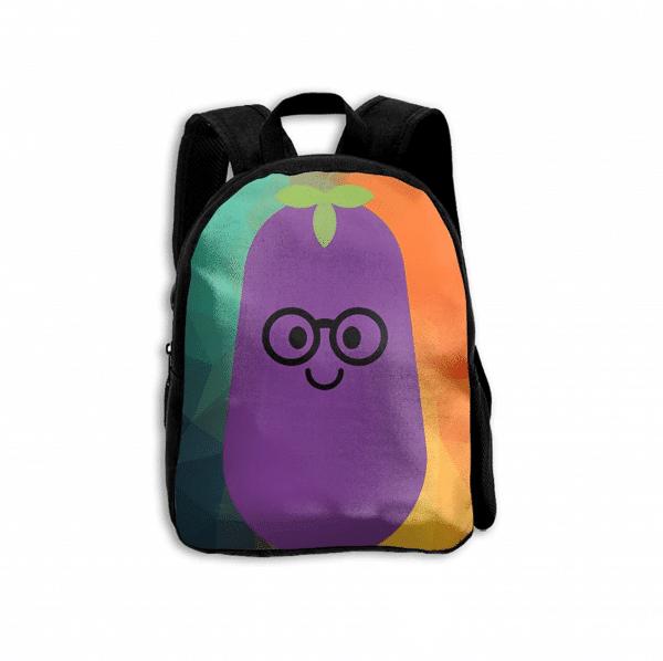 Eggplant Emoji Backpack