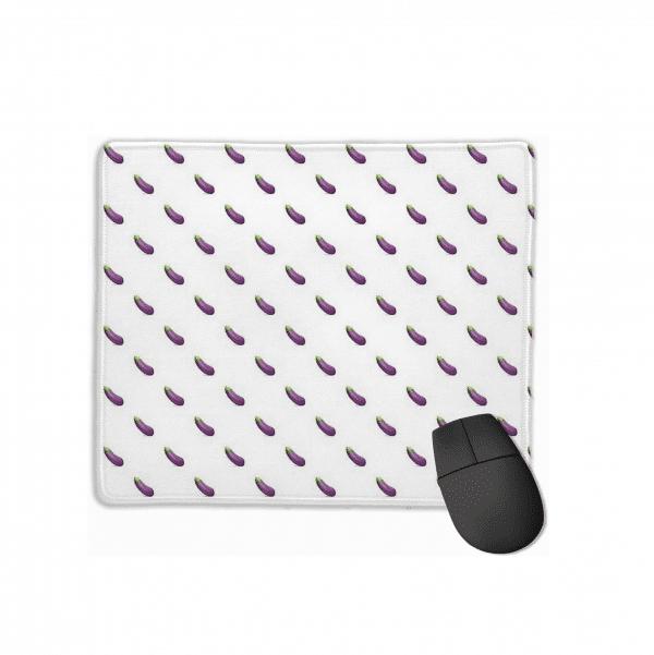 Eggplant Emoji Mouse Pad