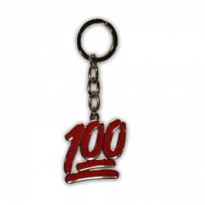 Emoji 100 Keychain
