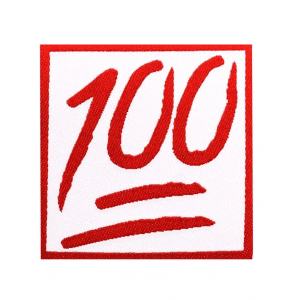 Emoji 100 Patch