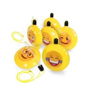 Emoji Bubble Necklace Party Favor
