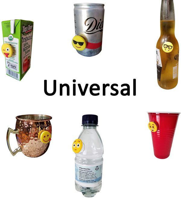 Emoji Drink Markers