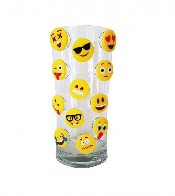 Emoji Glass Markers
