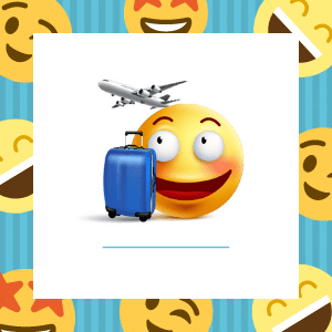 Emoji Travel Items