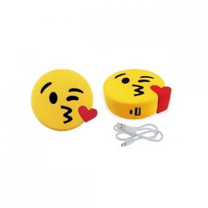 Kiss Emoji Battery Pack