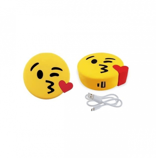 Kiss Emoji Battery Pack