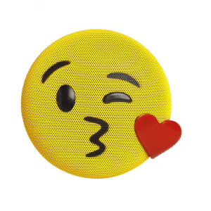 Kiss Emoji Bluetooth Speaker