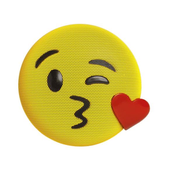 Kiss Emoji Bluetooth Speaker