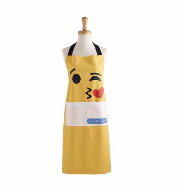 Kiss Emoji Kitchen Apron