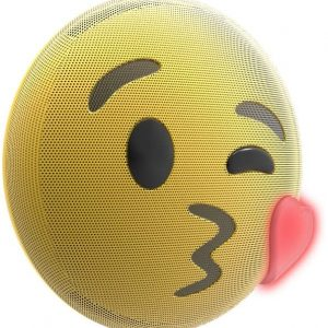 Lightup Kiss Emoji Bluetooth Speaker