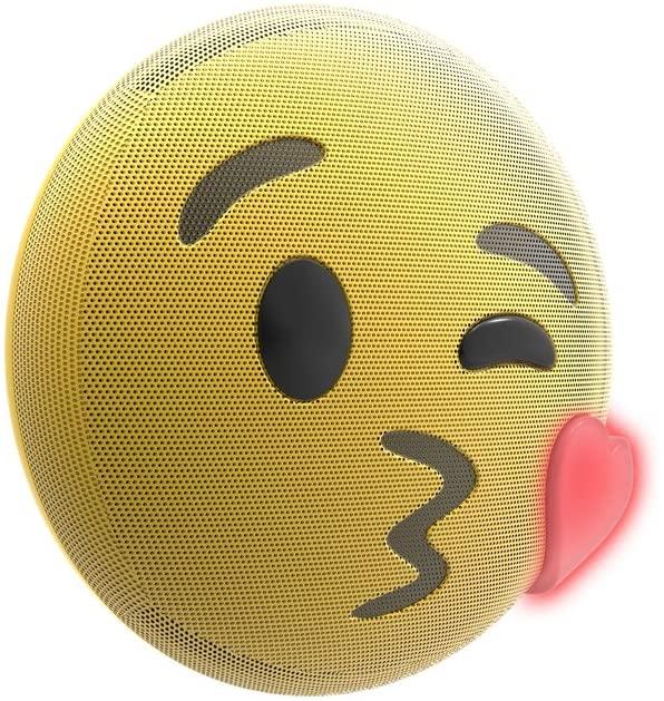 Lightup Kiss Emoji Bluetooth Speaker