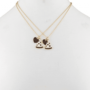Pizza Emoji BFF Necklace