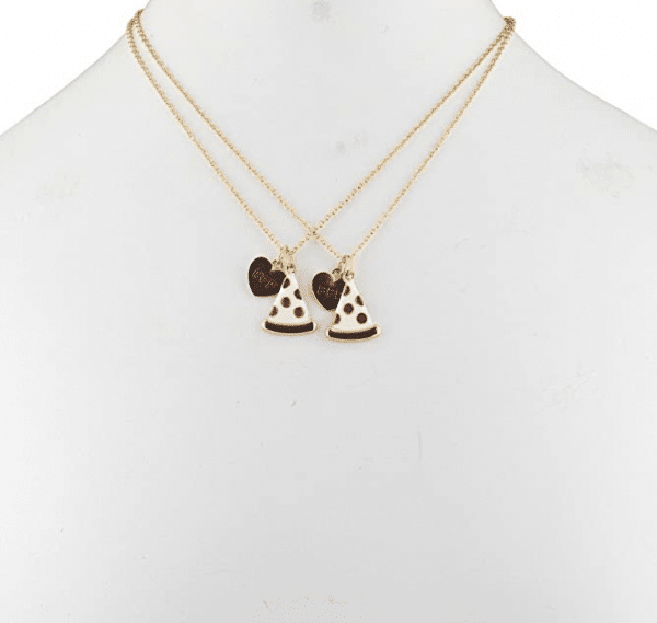 Pizza Emoji BFF Necklace