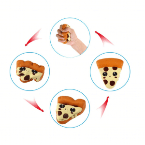 Stress Toy Pizza Emoji