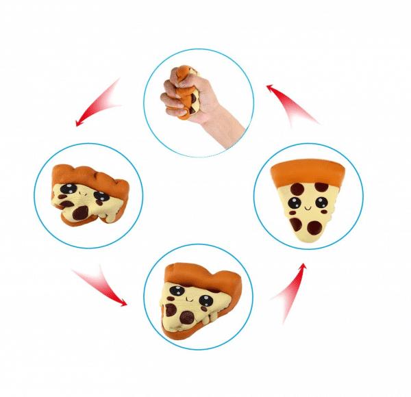Stress Toy Pizza Emoji