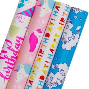 Gift Wrapping Paper Unicorn