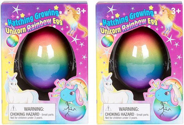 Rainbow Unicorn Hatching Eggs