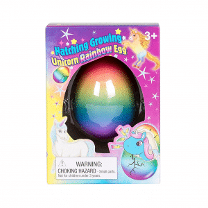 Unicorn Rainbow Hatching Egg