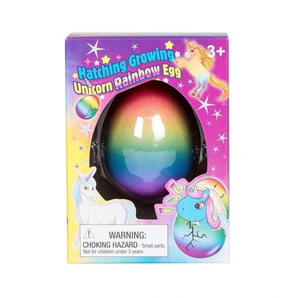 Unicorn Rainbow Hatching Egg