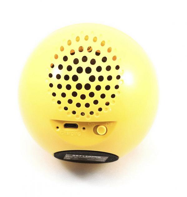 Back of Portable Speaker Emoji Winking