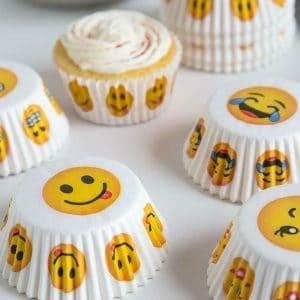 Cupcake Cups Emoji Designs