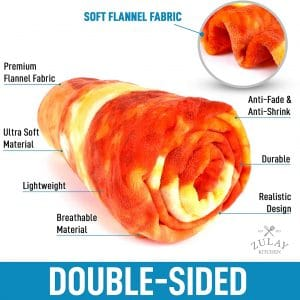 Double Sided Pizza Style Blanket