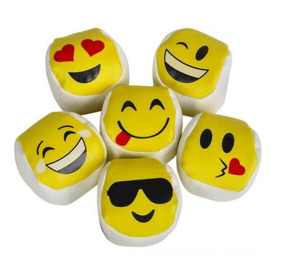 Emoji Hacky Sack Ball Set