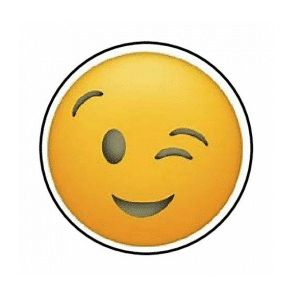 Envelope Seal Wink Emoji