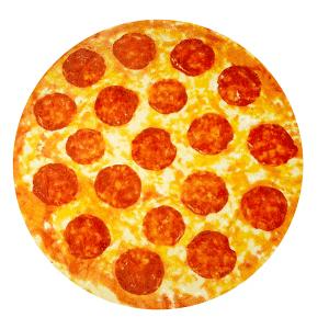 Giant Pepperoni Pizza Blanket