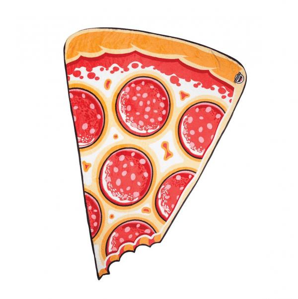 Pepperoni Pizza Throw Blanket Style