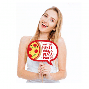 Photo Prop Pizza Style