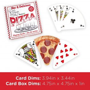 Pizza Playing Deck Size