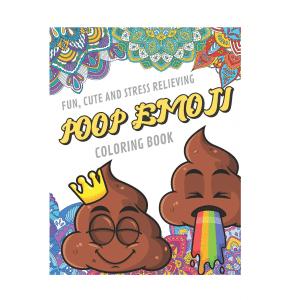 Poop Emoji Coloring Book